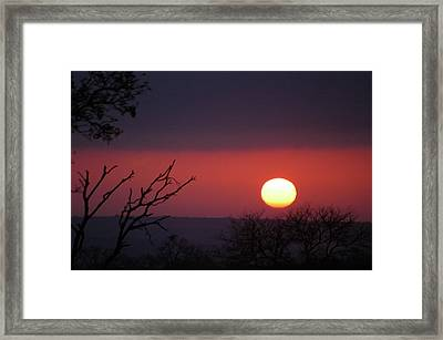 Framed Print featuring the photograph In The Zone by Alex Lapidus