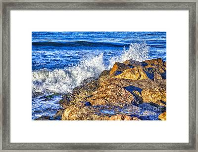 In The Zone Framed Print by David Millenheft