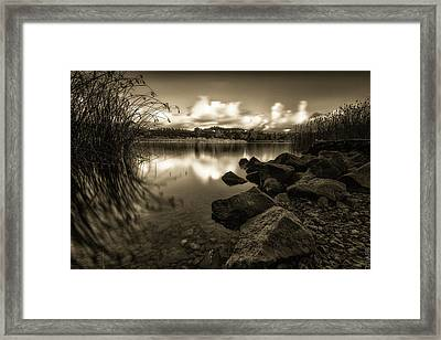 In This Moment Framed Print by Doug Barr