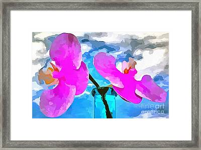 In This Moment Framed Print by Krissy Katsimbras