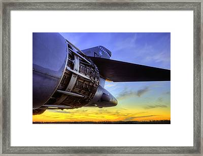 In Thrust We Trust Framed Print by JC Findley