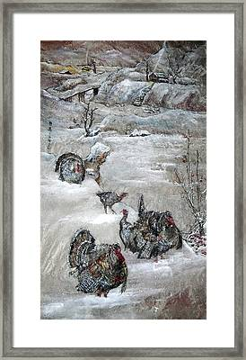 Framed Print featuring the painting In Time For The Holidays by Debbi Saccomanno Chan