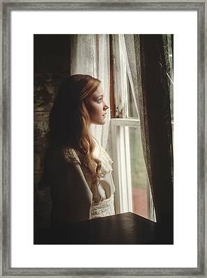 In Time Framed Print by TJ Drysdale