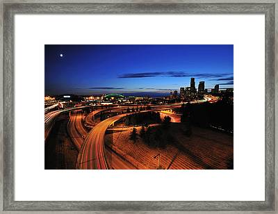 In To Emerald City C083 Framed Print by Yoshiki Nakamura