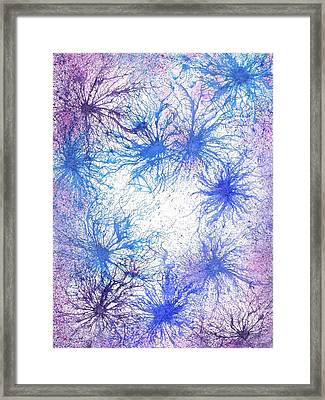 In Touch With The Divine #585 Framed Print