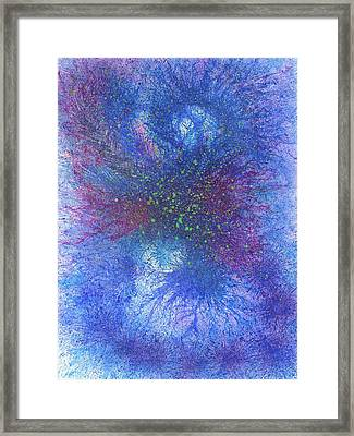 In Touch With The Divine #589 Framed Print
