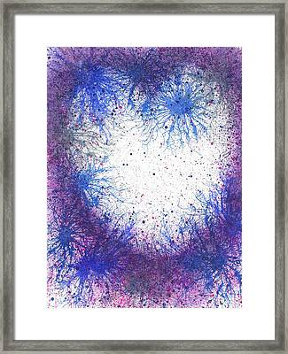 In Touch With The Divine #590 Framed Print