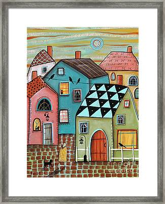 In Town Framed Print