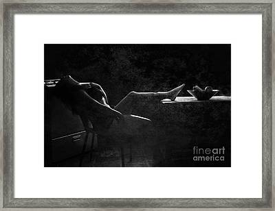 In Vain  Framed Print