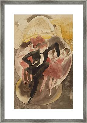 In Vaudeville Framed Print by Charles Demuth