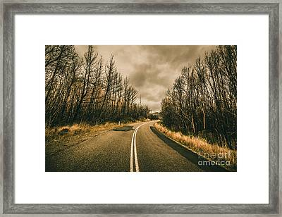 In Winters Way Framed Print by Jorgo Photography - Wall Art Gallery