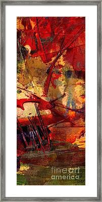 In Wisdom Valley Framed Print by Angela L Walker