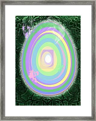 In Wonderland Framed Print