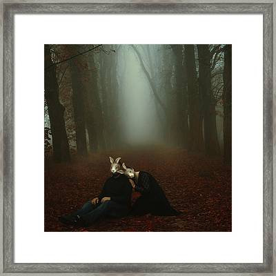 In Your Dream Framed Print by Art of Invi