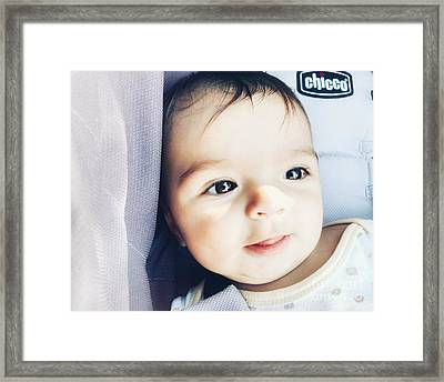 In Your Eyes #1 Framed Print