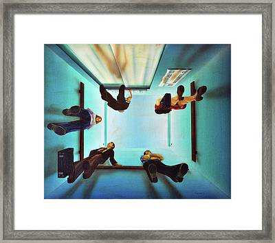 Inaccessible Framed Print by Michael Fencik
