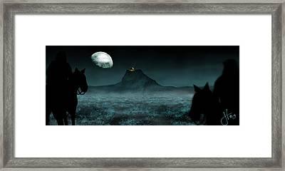 Inadvertent Hobbits Framed Print