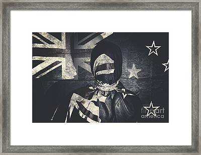 Inauspicious The Tale Of A Defaced Democracy Framed Print by Jorgo Photography - Wall Art Gallery