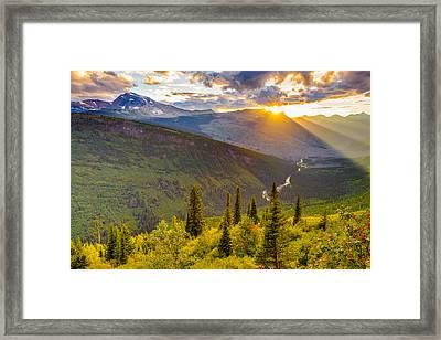 Incandescent Framed Print