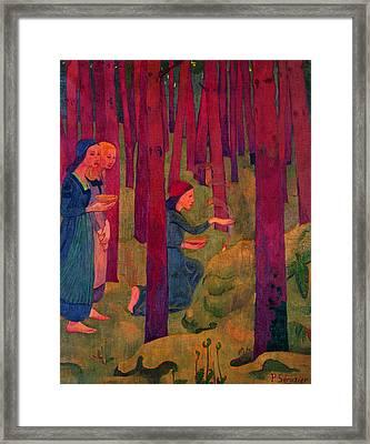 Incantation Framed Print by Paul Serusier