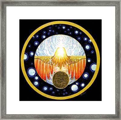 Incarnation   Mandala Series Framed Print by Pam Ellis