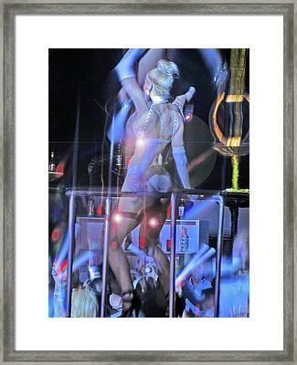 Incendiary Dance. Framed Print
