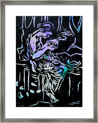 Incense Box 1 Framed Print by Adam Kissel