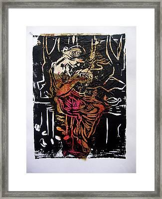 Incense Box 2 Framed Print by Adam Kissel
