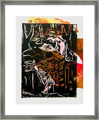 Incense Box 3 Framed Print by Adam Kissel