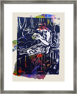 Incense Box 4 Framed Print by Adam Kissel