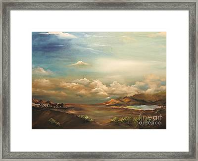 Incentive Framed Print by Carol Sweetwood