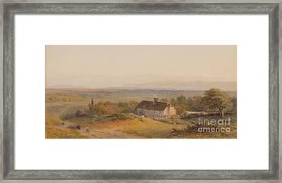 Inces Cottage Framed Print