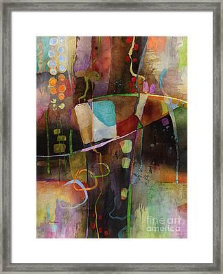 Incipient Bloom Framed Print by Hailey E Herrera