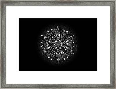 Inclusion Framed Print by Matthew Ridgway