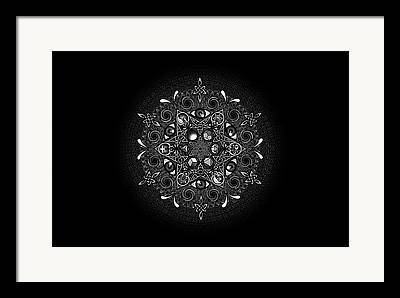 Spiral Drawings Framed Prints
