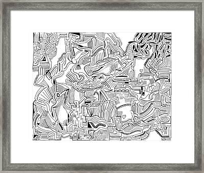 Inclusive Framed Print by Steven Natanson