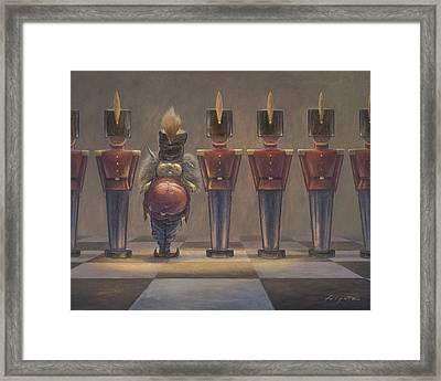 Incognito Framed Print by Leonard Filgate