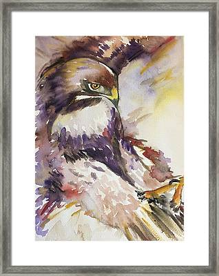 Incoming Framed Print by Kathryn Armstrong