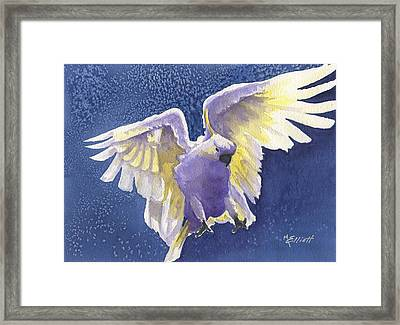 Incoming Framed Print by Marsha Elliott