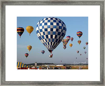 Incoming Framed Print by Paul Anderson