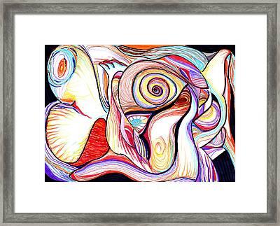 Incontri Ravvicinati Framed Print by Manuela Nicolini