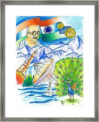 Incredible India Framed Print by Tanmay Singh