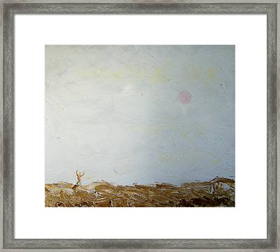 Incredible Lightness Of Being Framed Print by Lenore Senior