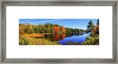 Incredible Pano Framed Print by Chad Dutson