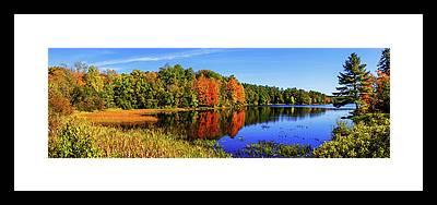 Maine Framed Prints