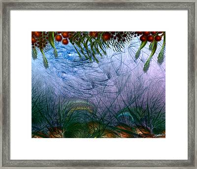 Incursion Into The Inversion Framed Print by Casey Kotas