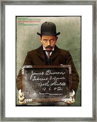 Indecent Exposure Framed Print
