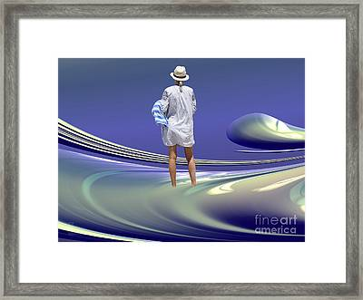 Indecision Framed Print