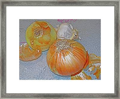 Indefinable Presence Framed Print