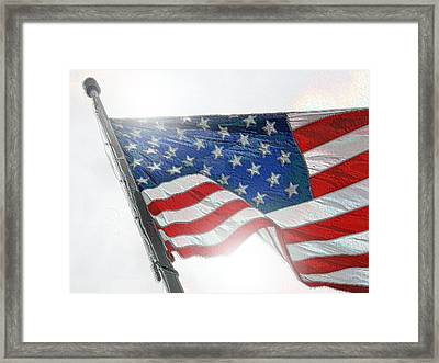 Independence Framed Print by Bill Noonan